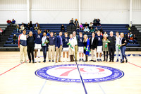 Senior Night St. Andrew's Basketball